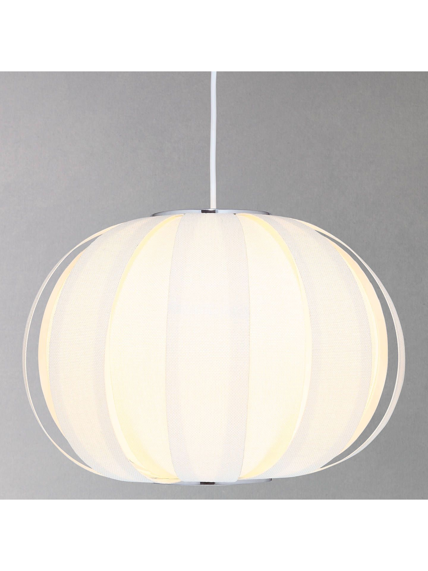 John Lewis Partners Sumet Panels Easy To Fit Ceiling Shade Cream Ceiling Shades Ceiling Lamp Shades Blue Lamp Shade