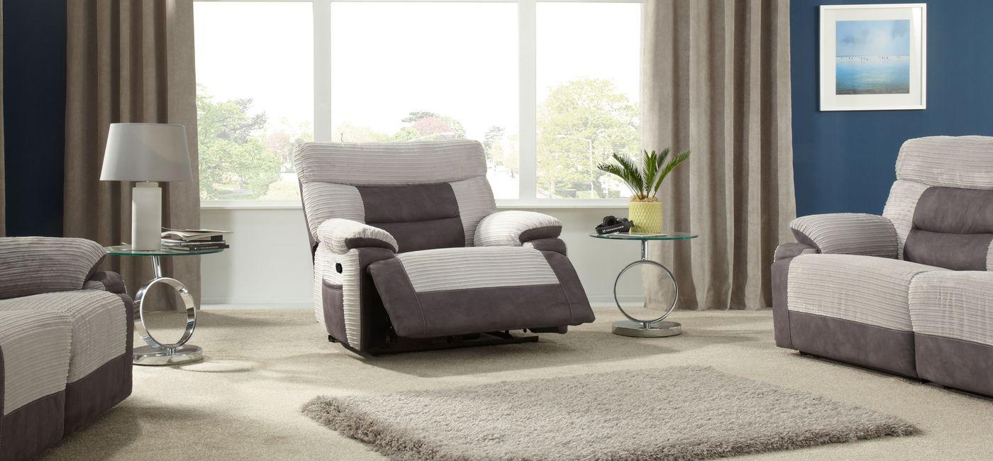 ScS Sofa Carpet Specialist Power reclining sofa