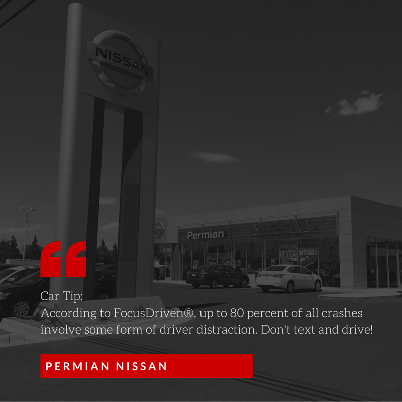 ‪#‎TipTuesday‬ from Permian Nissan! Available Inventory: http://goo.gl/1MON5h