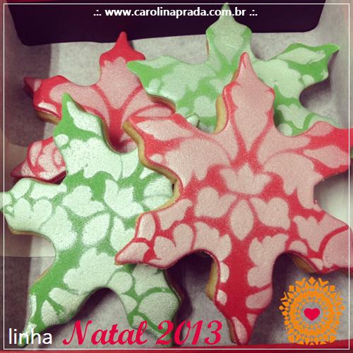 Cookies - detalhes ♥  { Encomendas: carolina@carolinaprada.com.br - até 23/12/13 }
