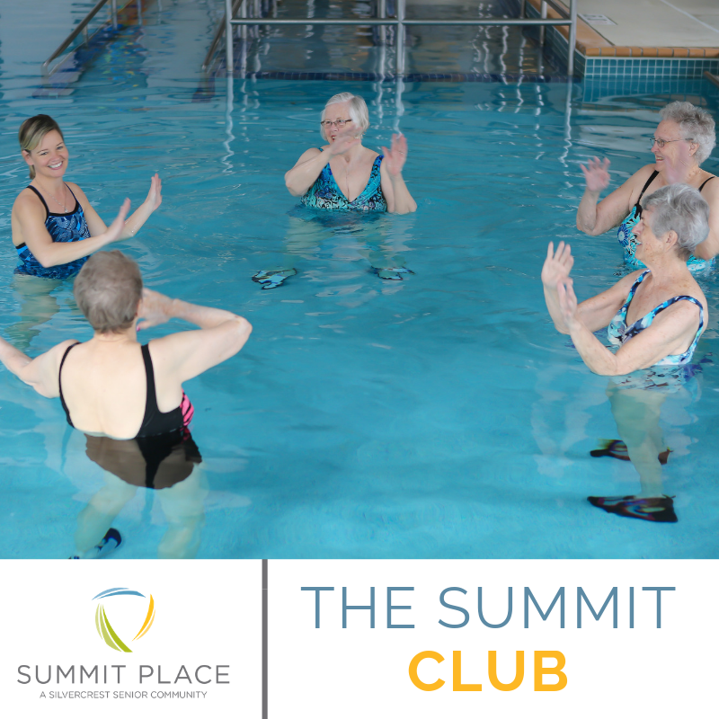 The Summit Club Is The Ultimate Fitness Center For Those 55 And Better We Provide Only The Best Senior Friendly Aquatic Therapy Bone And Joint Therapy Pools