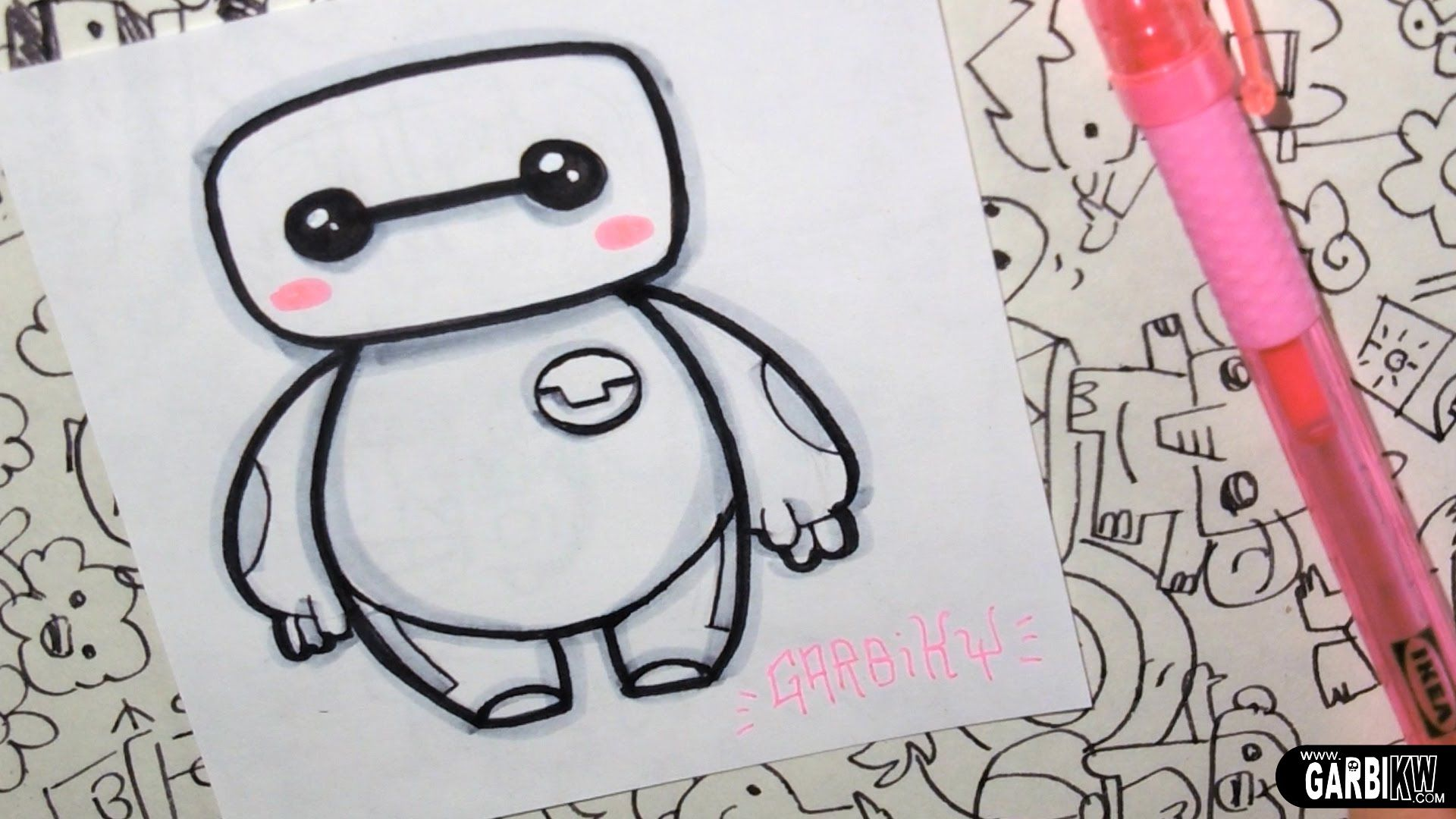 Baymax from Big Hero 6 - How To Draw Chibis and Kawaii ...