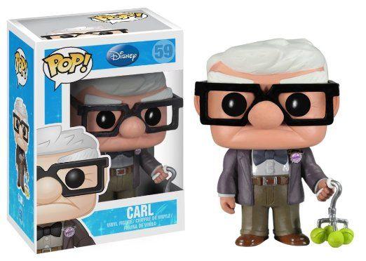 Amazon.com: Funko POP Disney Series 5: Carl Vinyl Figure: Toys & Games