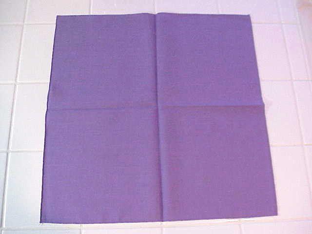 Napkin folding photographs ©2000-2002 by Glenna J. Morton, About's Interior Decorating Guide