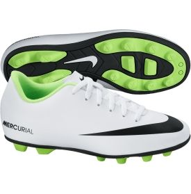 Nike Kids' Mercurial Vortex FGR Soccer Cleat WhiteGreen DICK'S Sporting  Goods