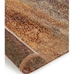 Photo of benuta Flachgewebeteppich Stay Blau/Braun 115×180 cm – Vintage Teppich im Used-Look benuta