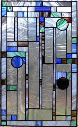 frank lloyd wright glas in lood