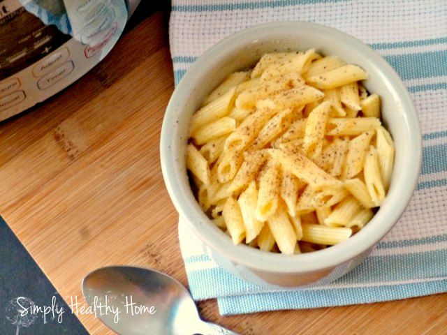 The instant pot has earned it's place in my kitchen, I love how quick and easy it is to make meals, including this macaroni and cheese recipe.