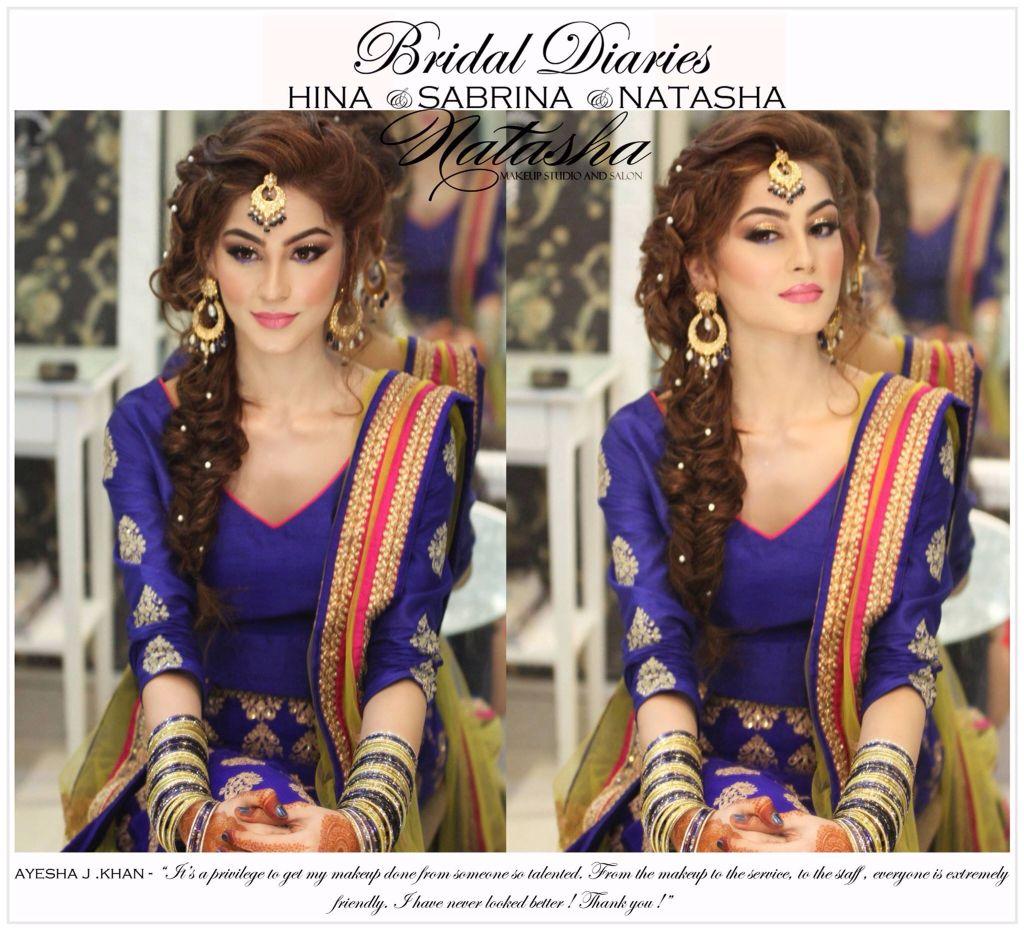 Hairstyles Pakistani Mehndi: Hair For Sangeet ...visit Us At Https://www.facebook.com