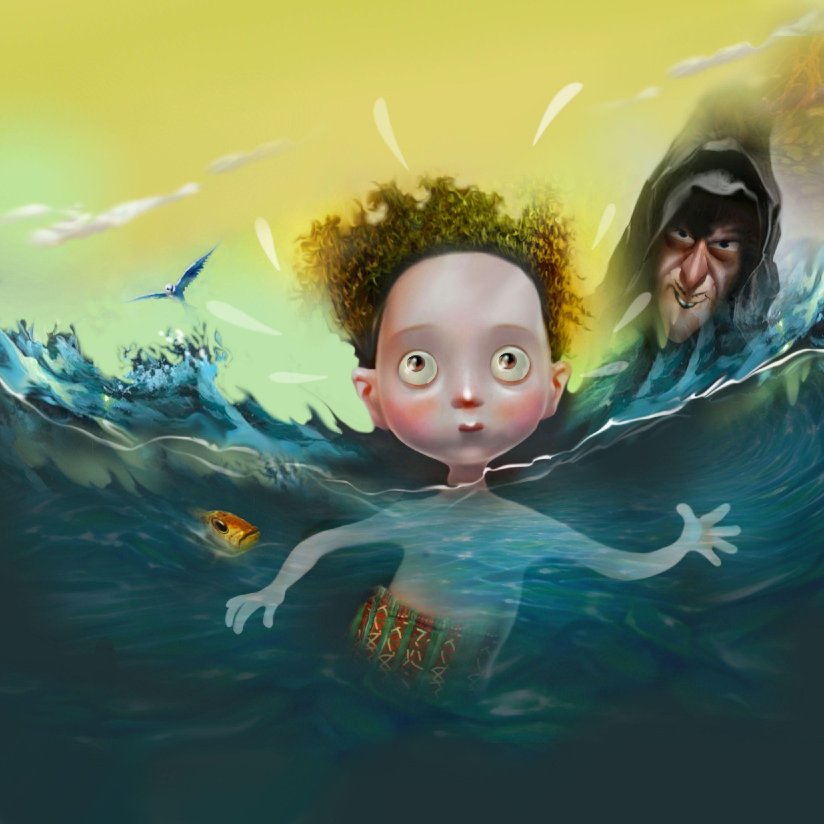 """Ilustração livro """"A derrotados medos"""" Adriana Zanonato e Luiz Prado / 2016"""