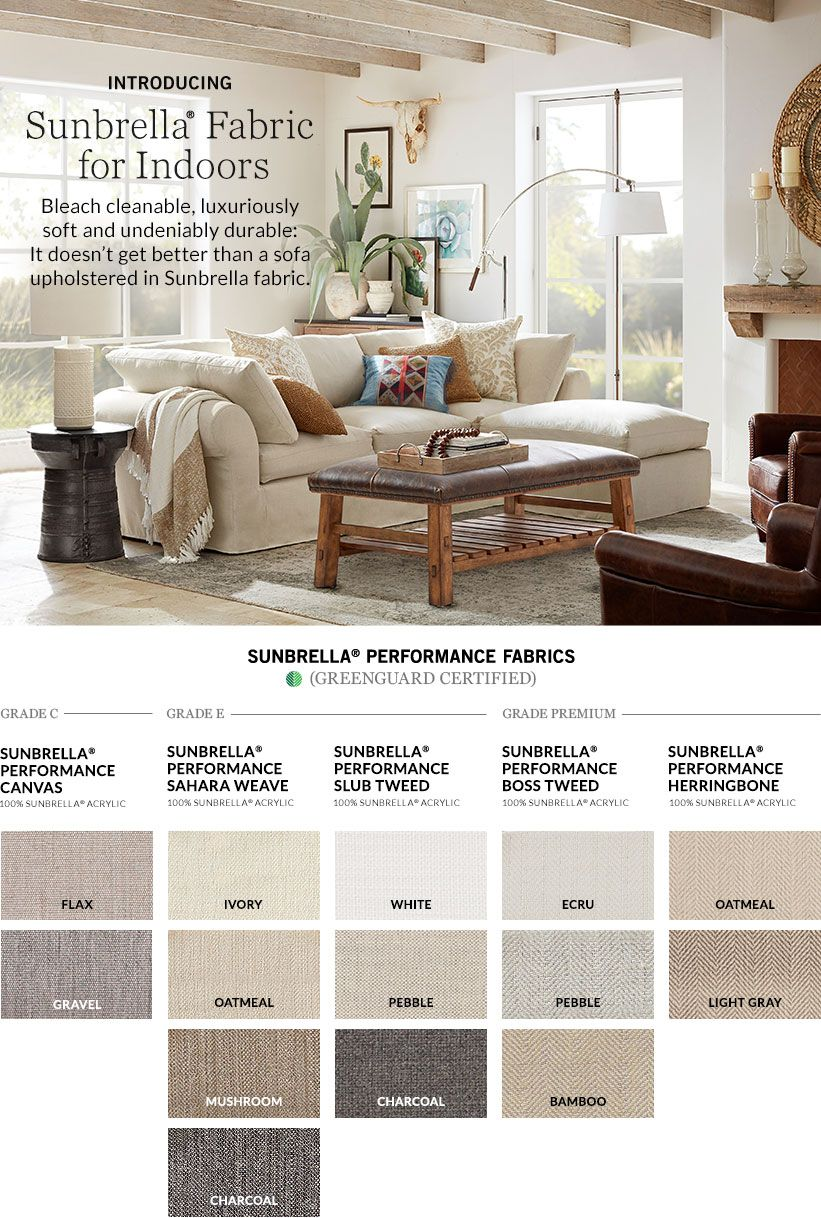 Introducing Sunbrella Fabric For Indoors Easy To Clean