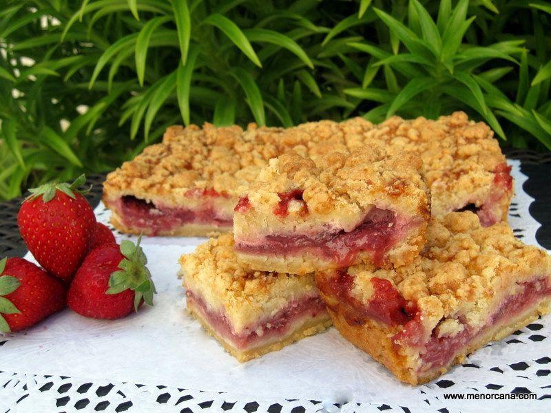Tarta streusel con fresas tartas con frutas - Ana cocina facil ...