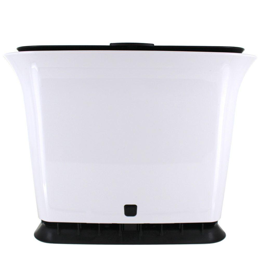Fresh Air Odor Free Countertop Compost Collector 1 5 Gallon Black