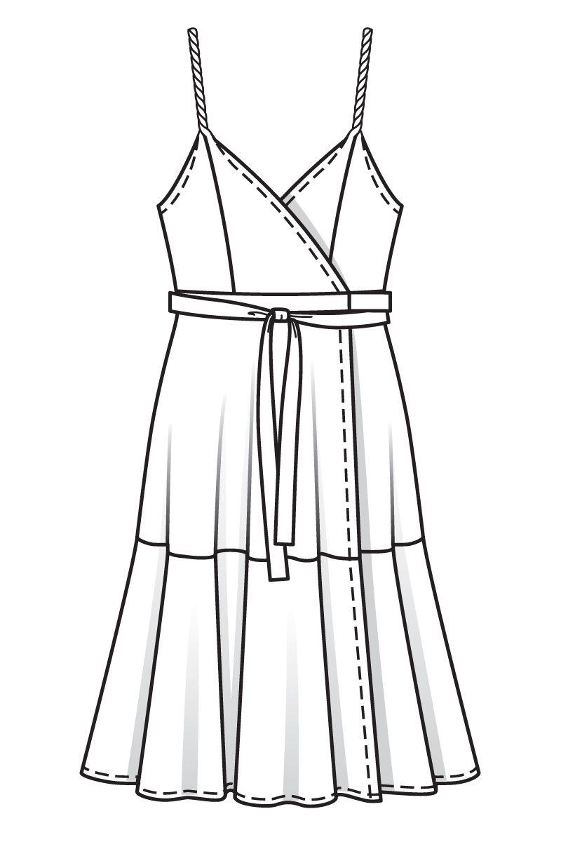 Выкройки красивых сарафанов платьев фото 297