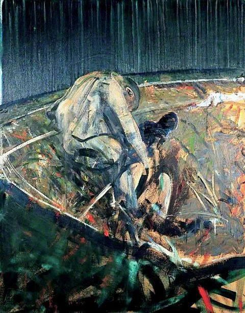 Francis Bacon Date Painted 1956 Oil On Canvas 150 X 107 5 Cm
