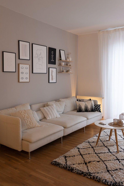 Smart Home Beleuchtung: Ein Lichtsystem für unseren Wohn-Essbereich mit DIY Tischleuchte im Boho Stil // Werbung