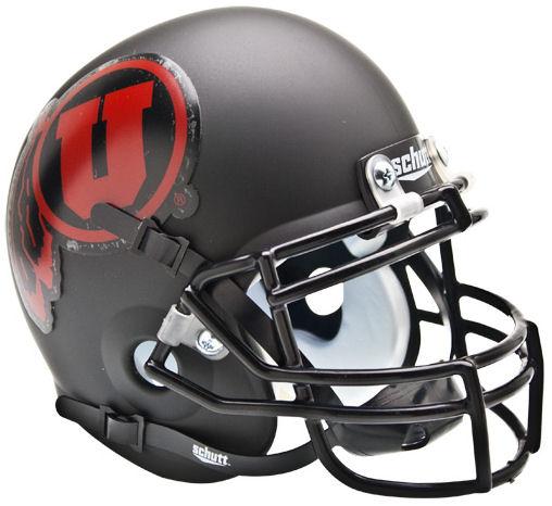 STANFORD CARDINAL MINI Football Helmet MATTE BLACK