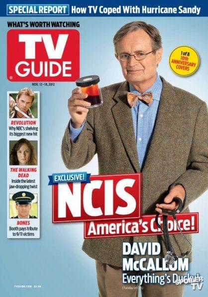 David na obálce TV Guide, 12. - 18. 11. 2012 (1 z 8 obálek 10-ti letého výročí)