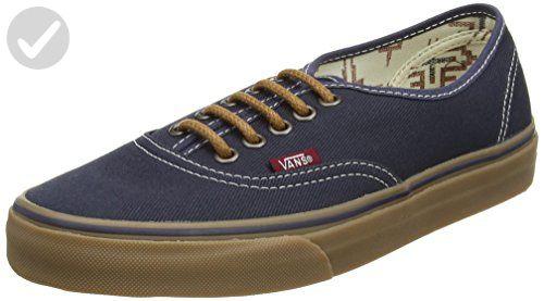 8083a28628607 Vans Unisex Authentic (T&G) Ombre Blue/Gum Skate Shoe 7.5 Men US / 9 ...