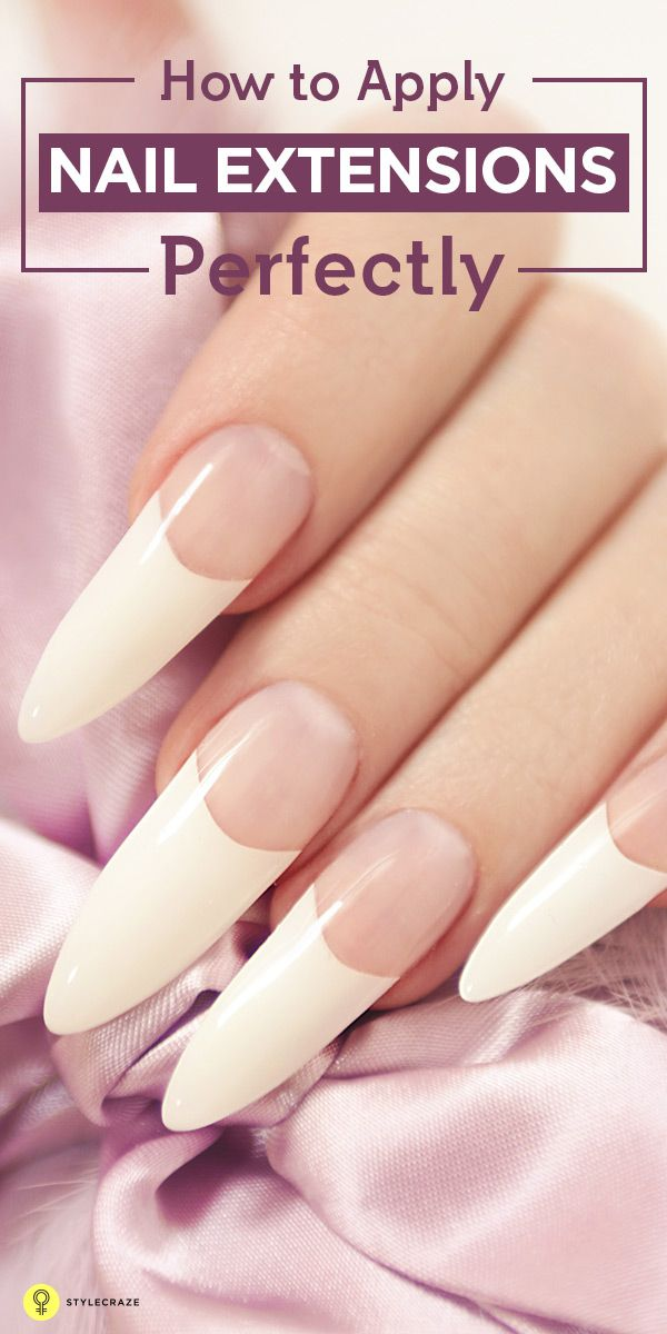 Nail extensions is a way to get those envious nails. Here is a step by step tutorial on how to apply nail extensions perfectly.