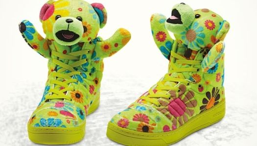 57114be1ec5 Teddy Bear Sneakers for Adidas. You know you want a pair!