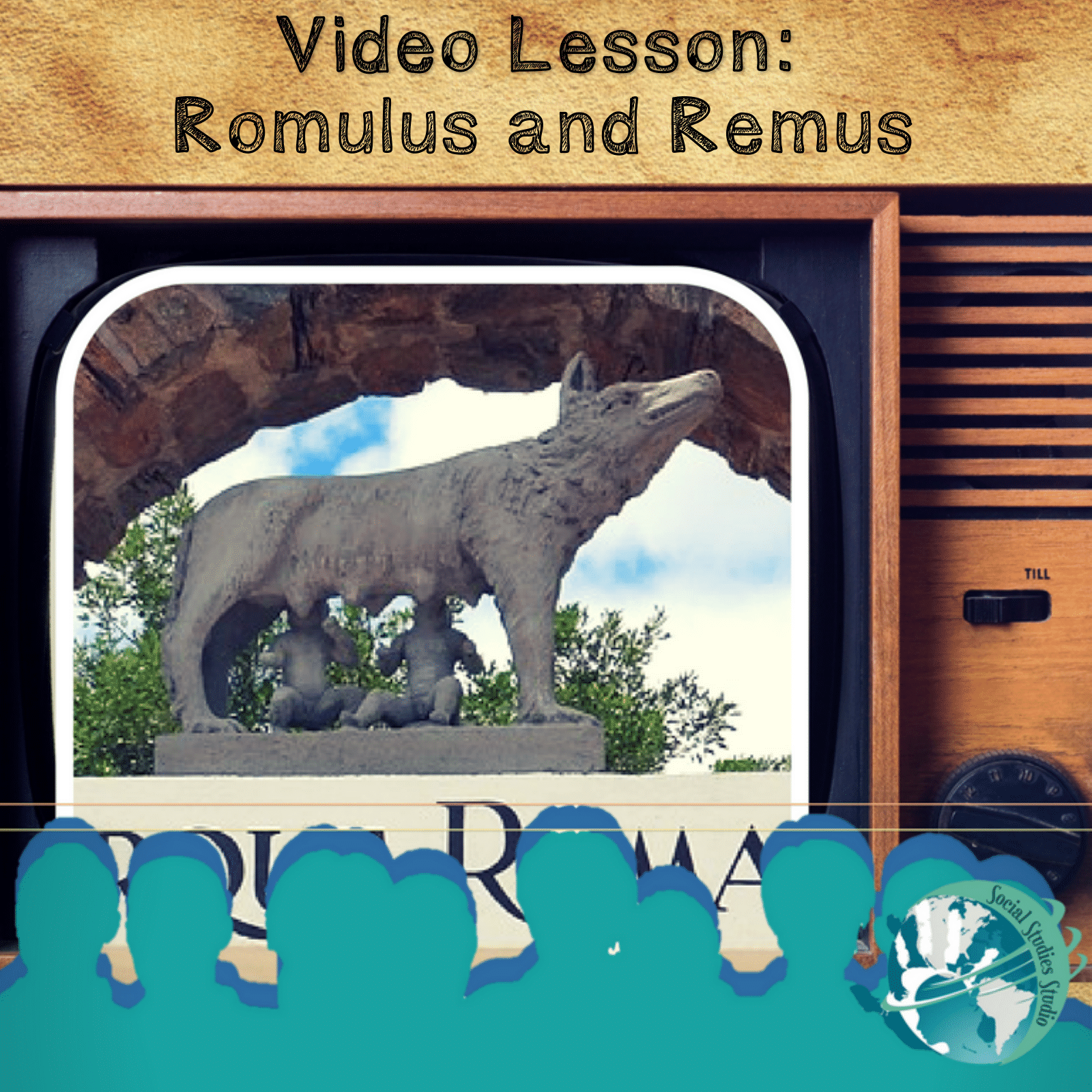 Video Lesson Romulus And Remus Ancient Rome With Images