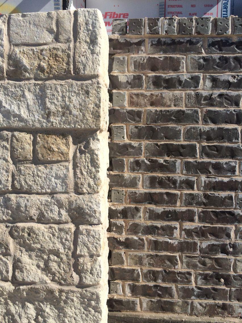 12515 Brick Laying Has Begun Boral Burlington Antique