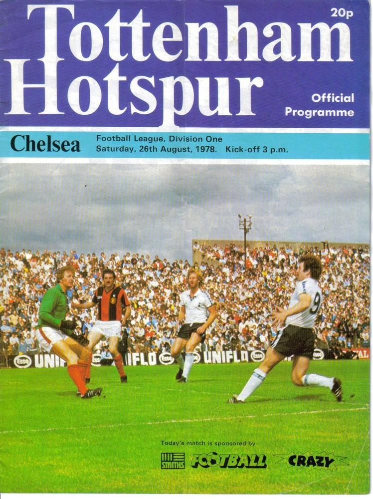 1978/79 TOTTENHAM HOTSPUR/SPURS/THFC v CHELSEA White Hart