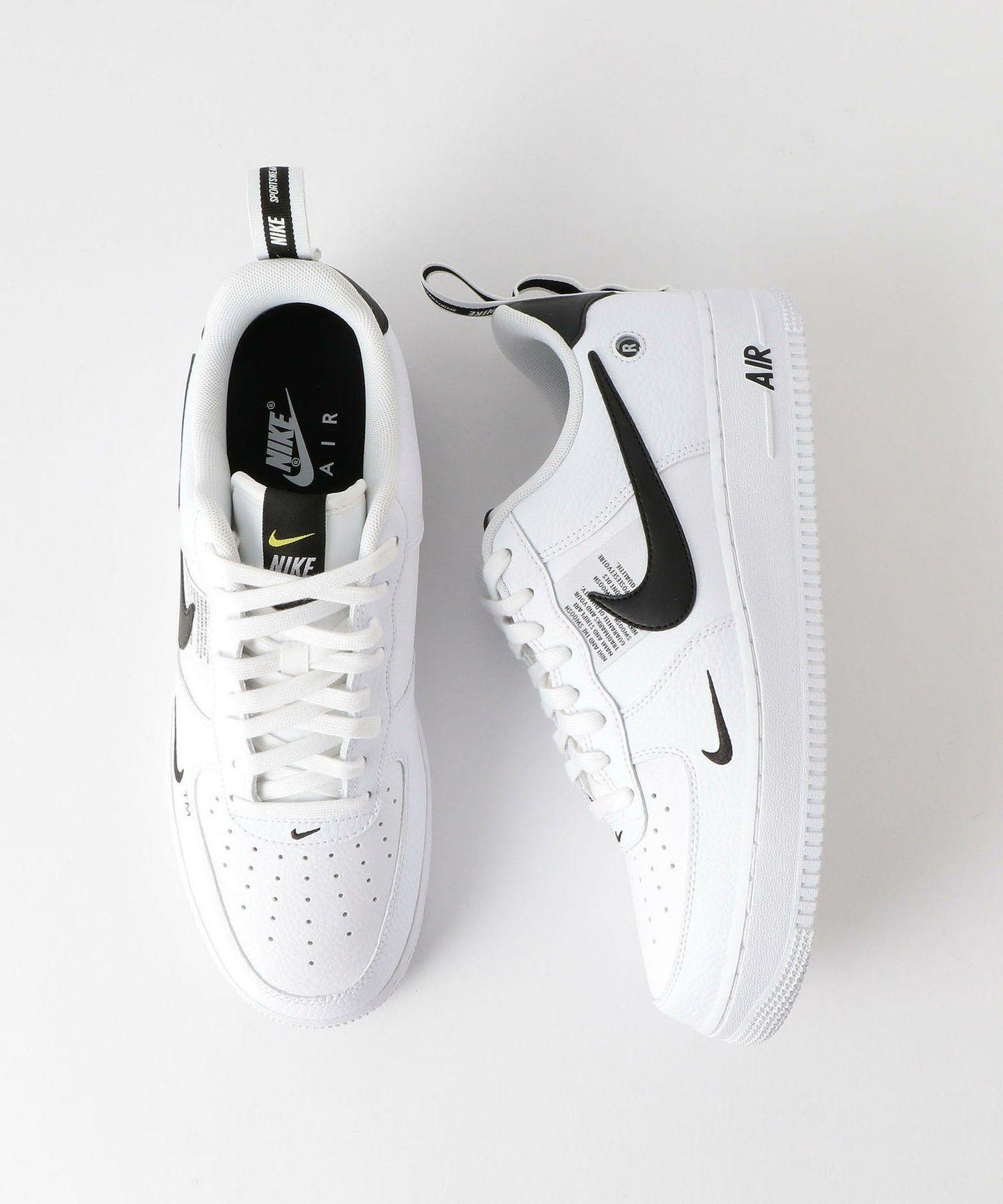 2019 AIR FORCE 1 07 LV8 Utility Scarpe uomo nero bianco scarpe sportive 36,45