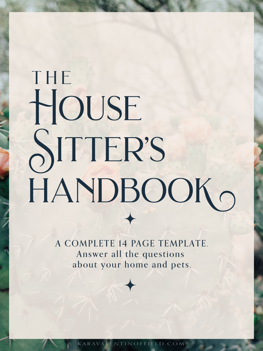Instruction Template For Your House Pet Sitter Everything They Need To Know For When You Are Traveling Free House Sitter Pet Sitter Instructions Sitter