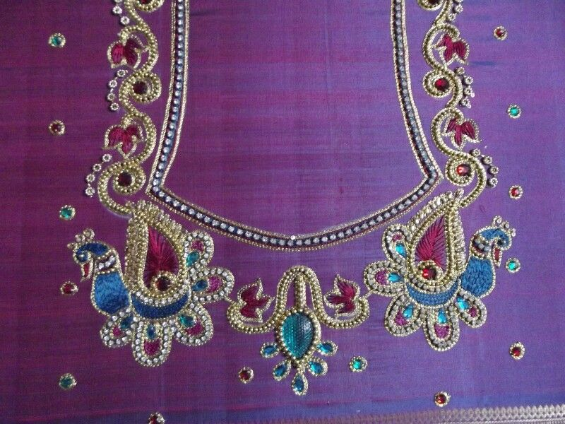 Inspiration embroidery pinterest blouse designs