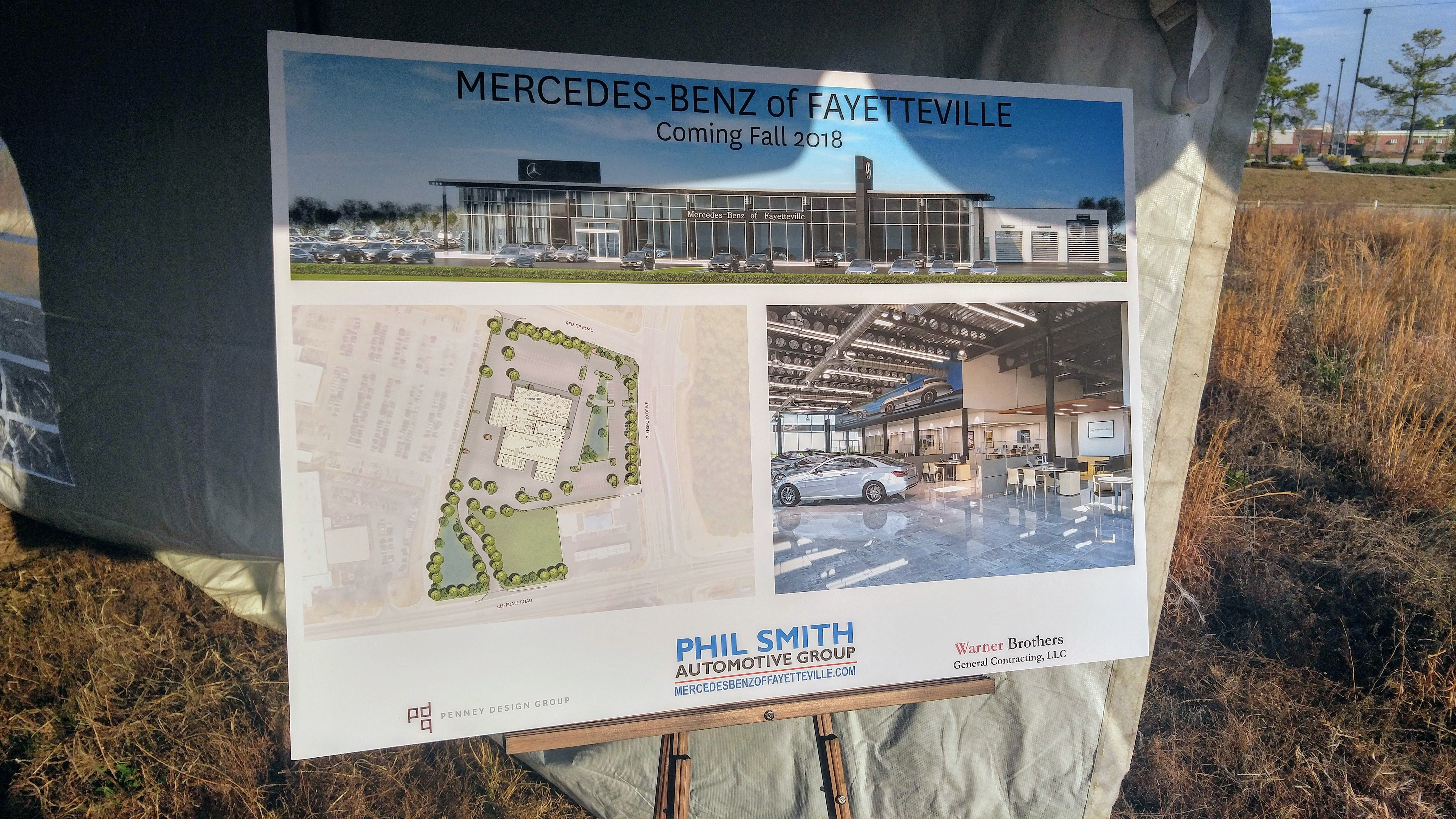 Congrats To Mercedes Benz Of Fayetteville On The Groundbreaking Of Your New  Location Opening In