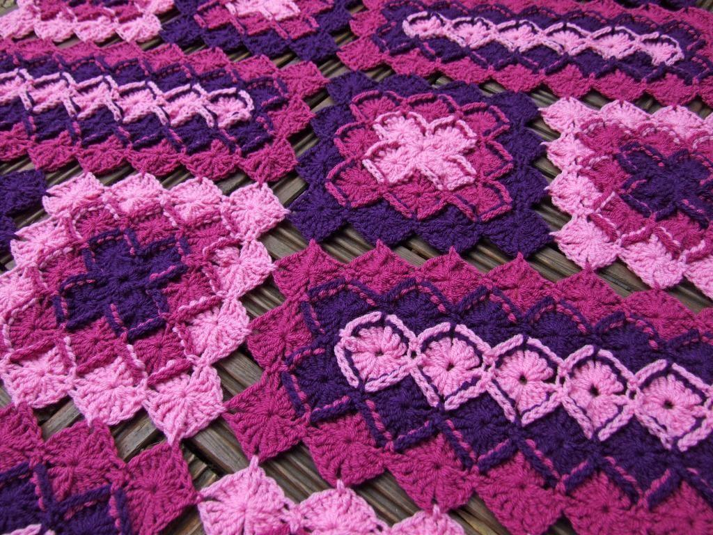 Bavarian Lap Blanket Crochet Pattern   Blanket crochet, Blanket and ...