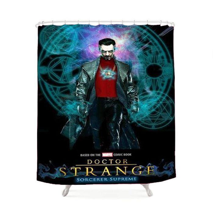 Doctor Strange Movie Poster Shower Curtain