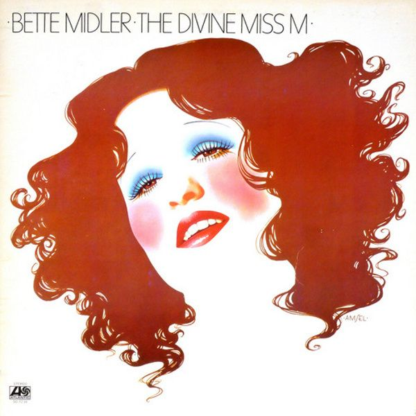 Bette Midler The Divine Miss M Artwork Richard Amsel Bette