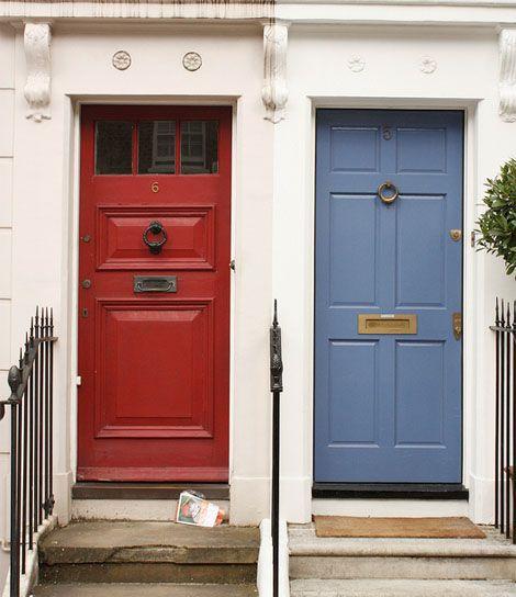 want a red door
