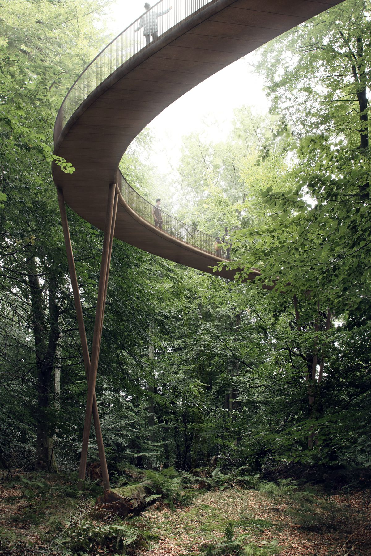 Architectural Accessibility in Nature with Denmark's Camp