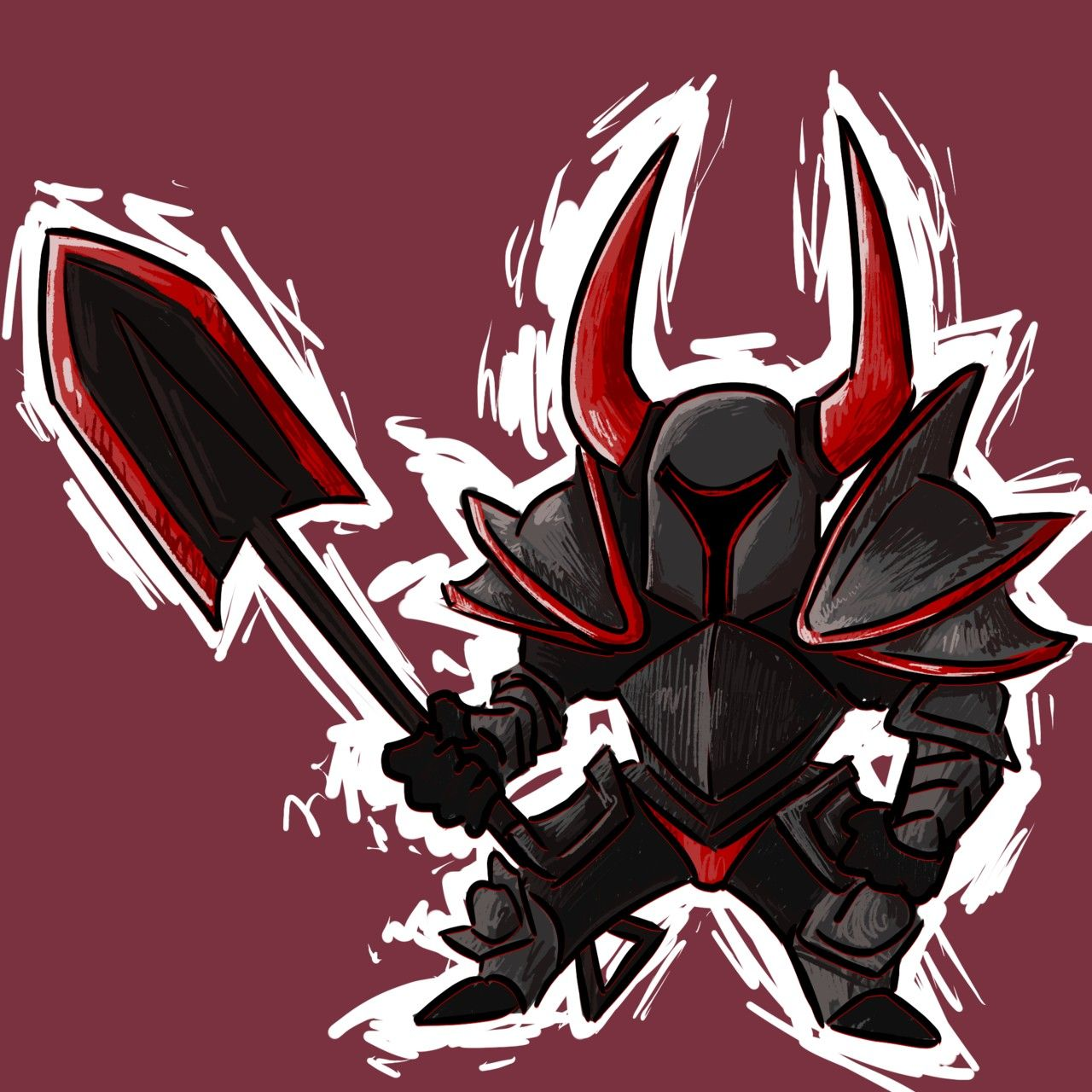 Black Knight Blackest Knight Knight Shovel Knight