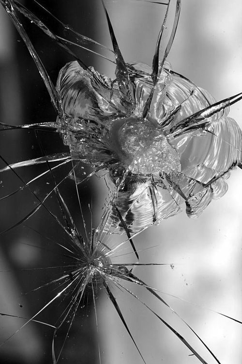 Delicacy and even of fragility via for What to do with broken mirror pieces