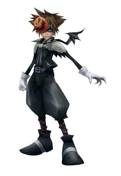 Kingdom Hearts Halloween Town Sora Juegos Pinterest Juegos