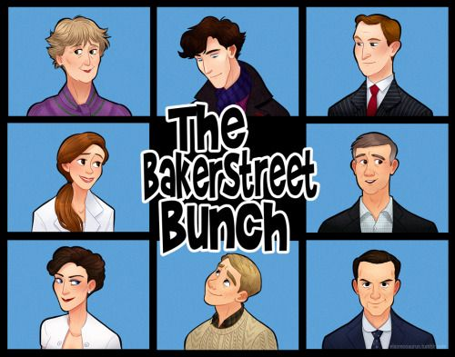 What if…..Sherlock was a 70s sitcom. Here's the story of a clever detective