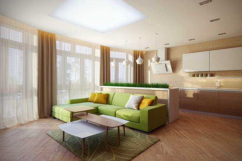 32 Ideen zu Sofa in Grün für die Wohnzimmer Einrichtung Möbel