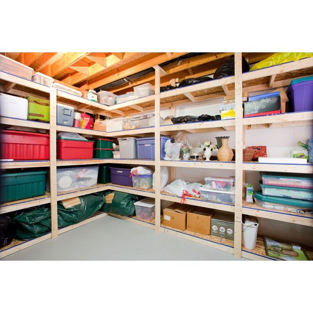 Storage Room. Make Use Of The Vertical Space. Two Full