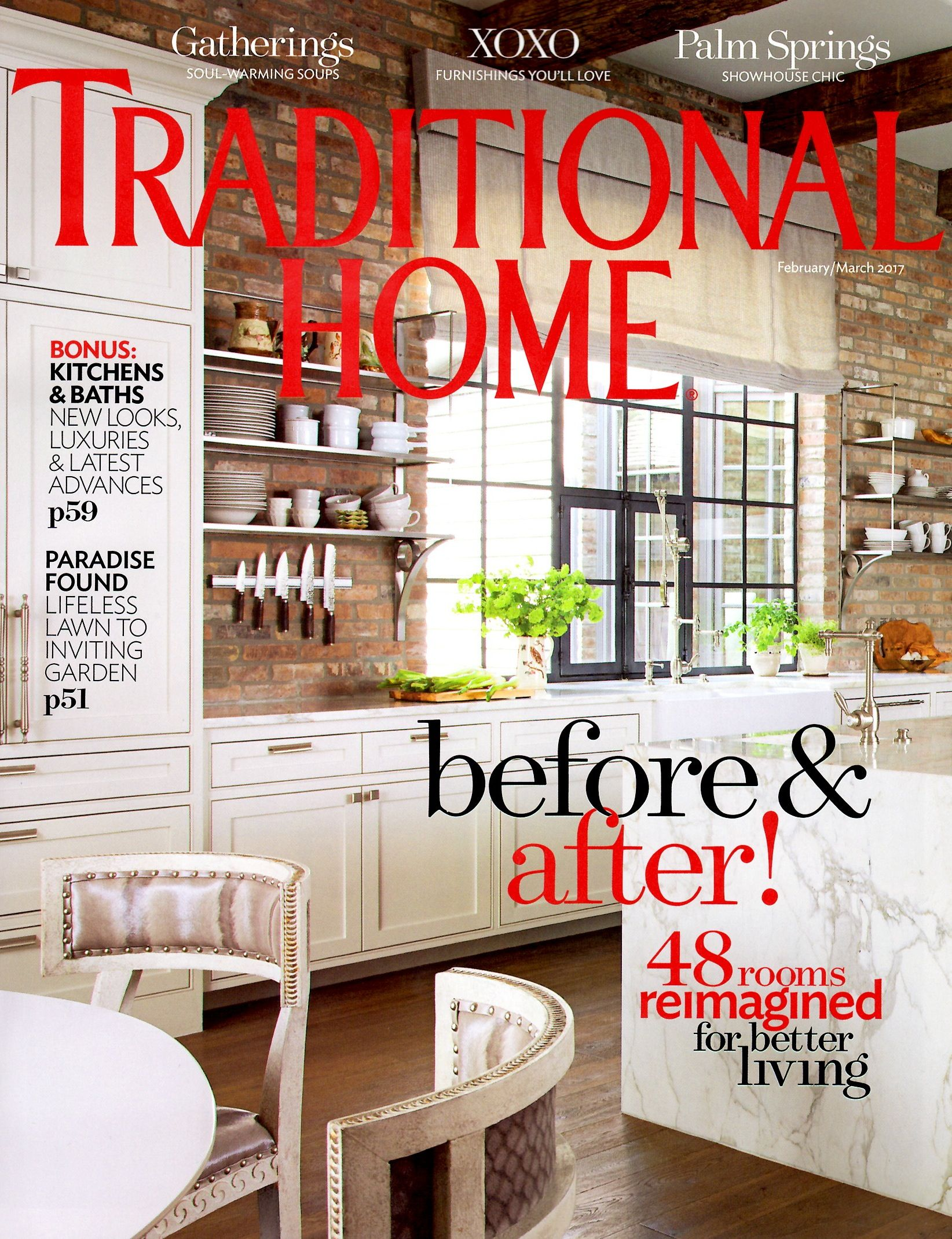 In the current issue of Traditional Home, I'm giving you