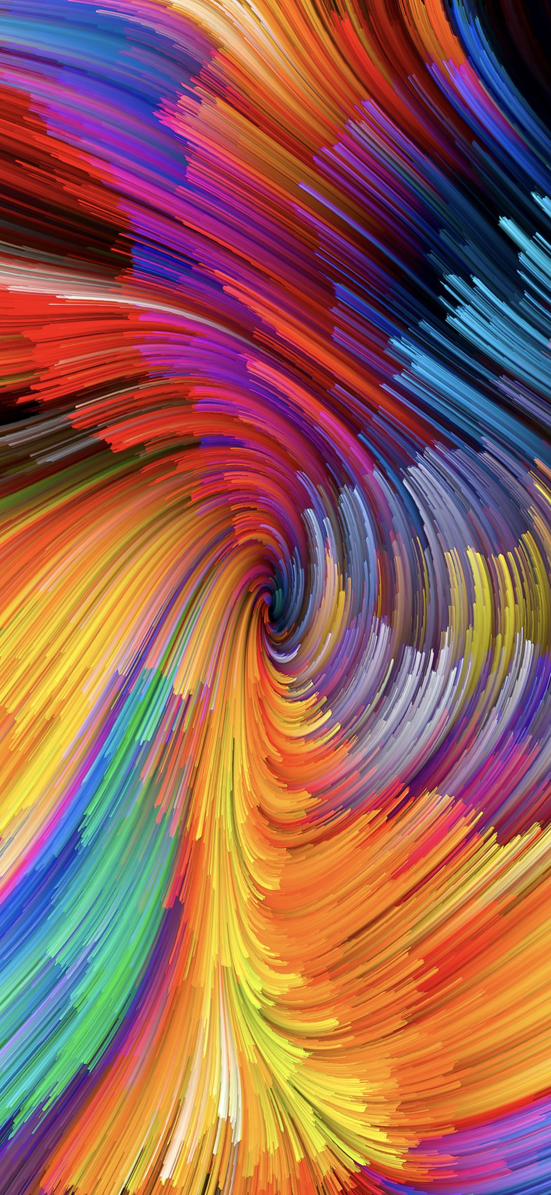 A Swirl Of Fibers From Macos Mojave Painting Wallpaper Abstract Wallpaper Phone Wallpaper
