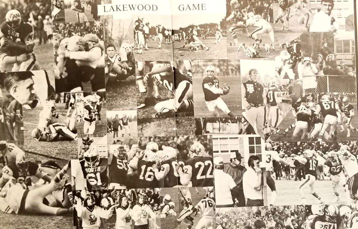 1976 lakewoodsouth thanksgiving day football pages full