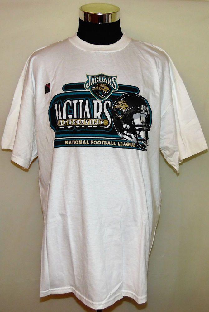 quite nice 83758 aa878 Jacksonville Jaguars NFL Football Old Logo Vintage 90's ...