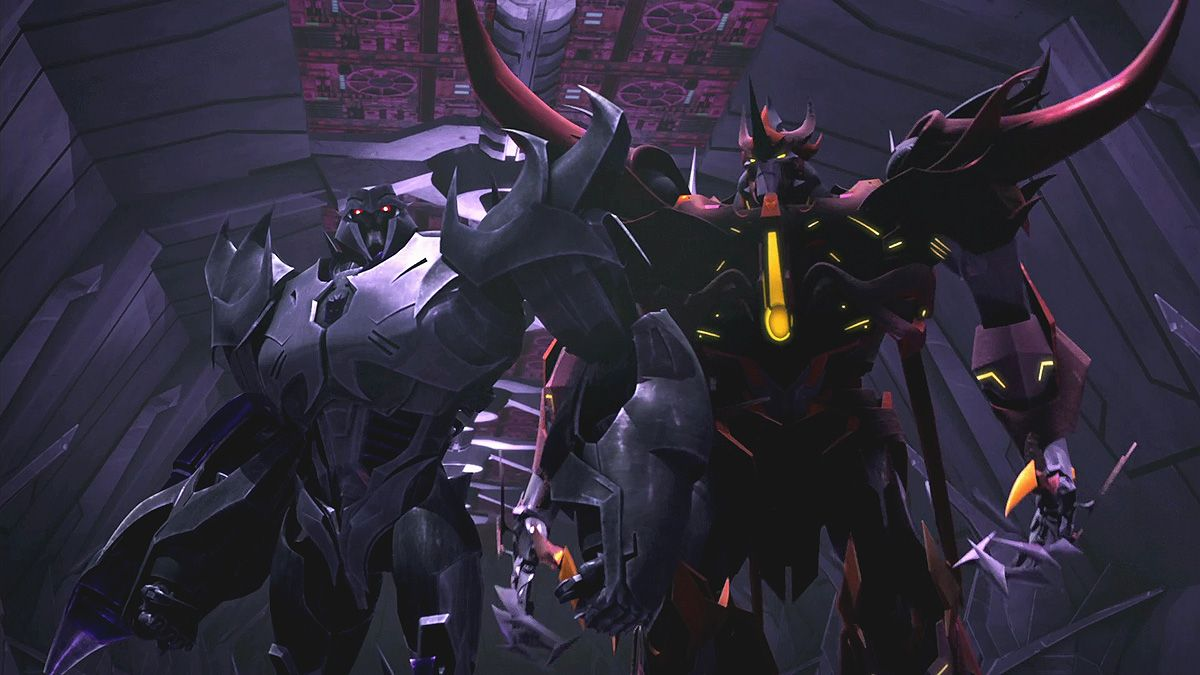 Transformers Prime Beast Hunters S03 E09 Evolution Megatron
