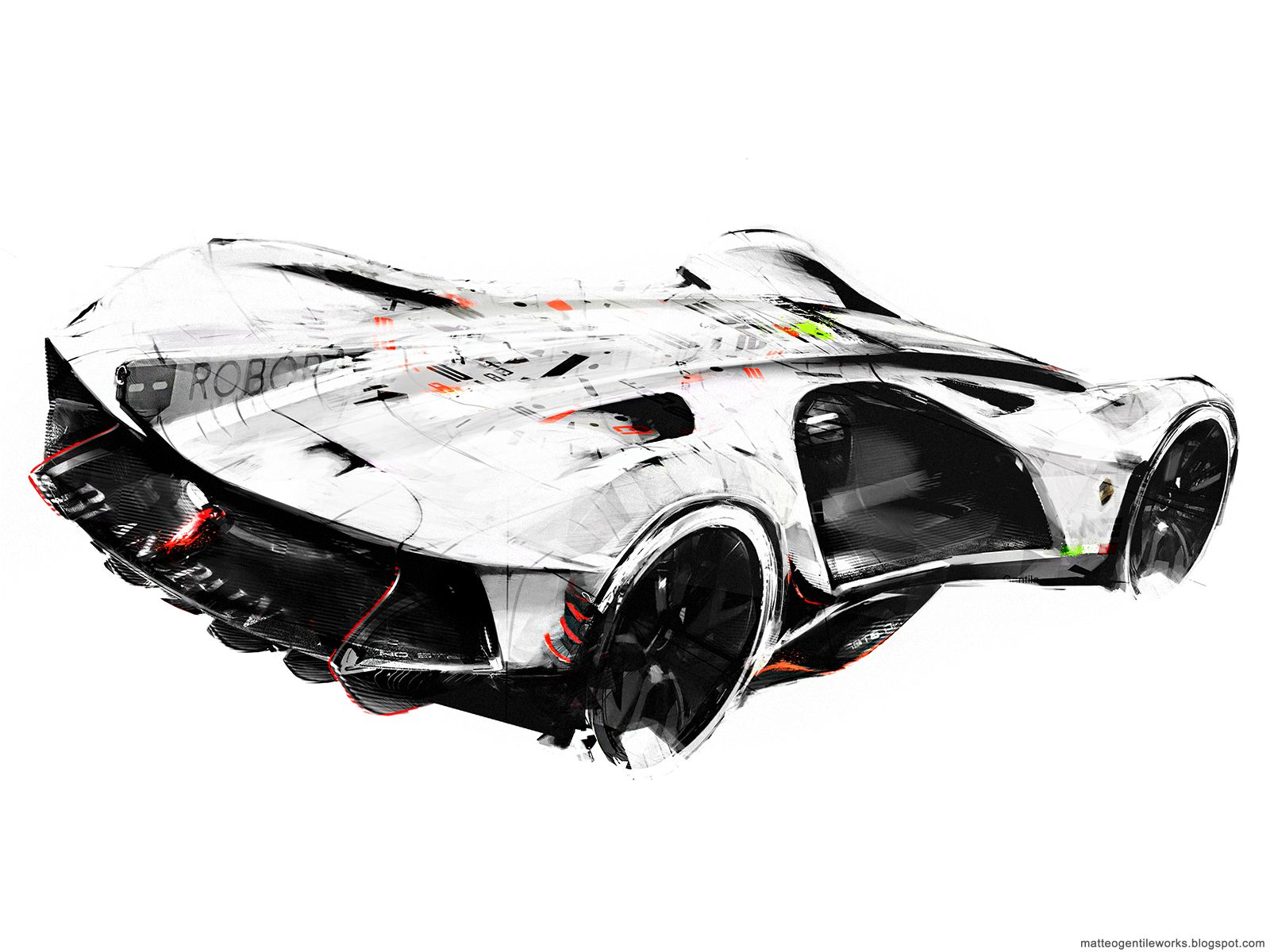 Lamborghini Spectro Autonomous Racer On Behance Abstract