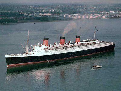 RMS Queen Mary MaryRms ElizabethCruise
